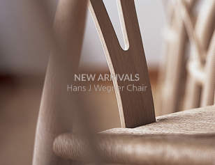 NEW ARRIVALS Hans J Wegner Chair