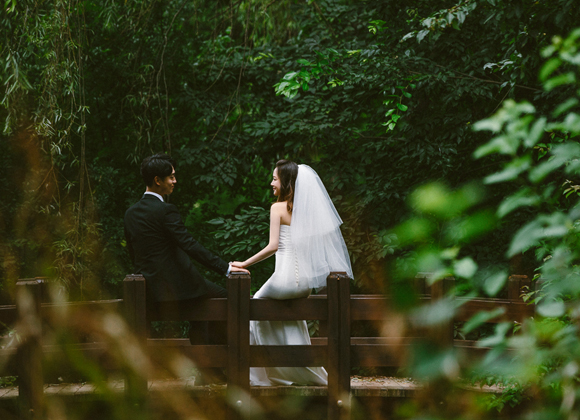 seoul forest wedding snap shoots