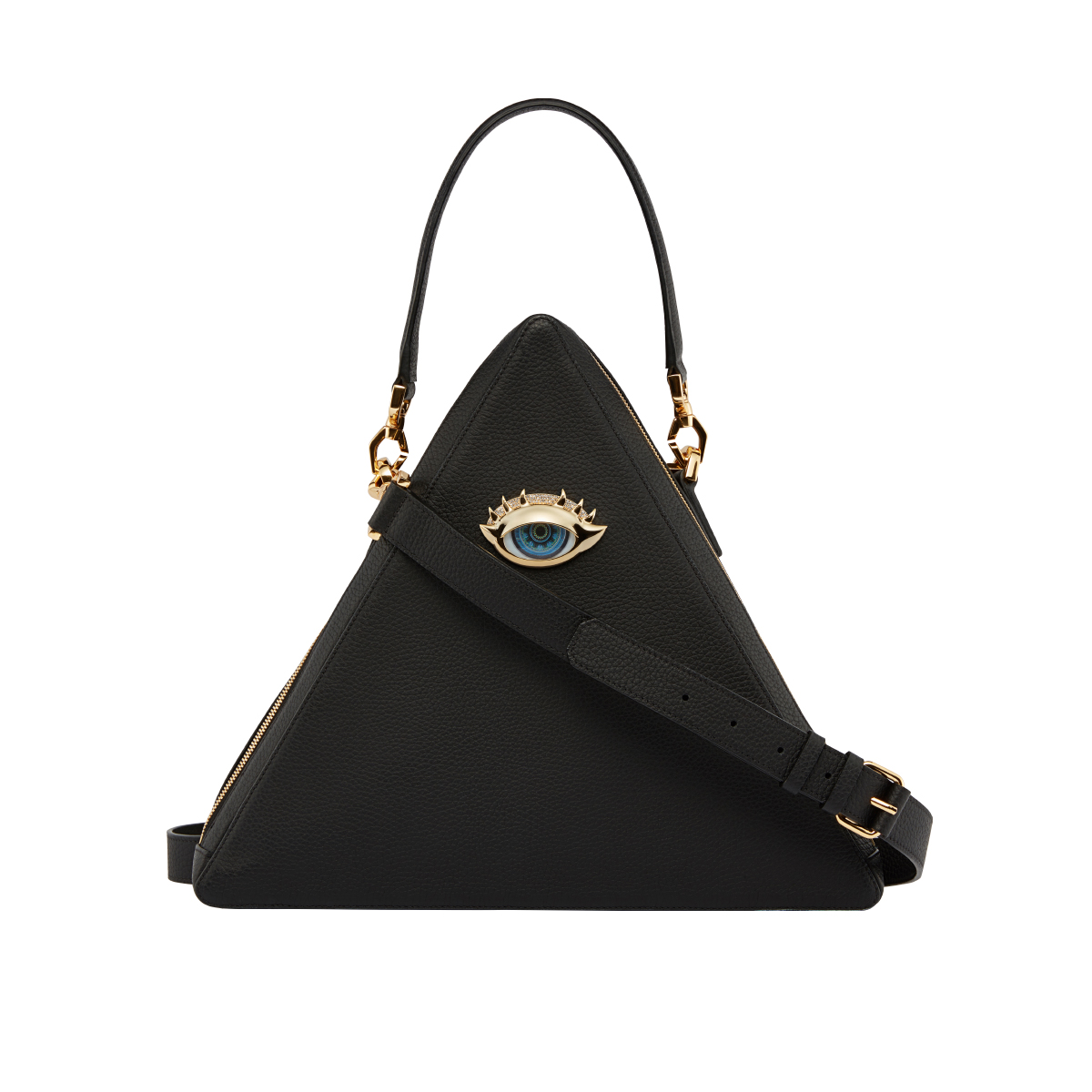 Holy Black Triangle Tote Bag