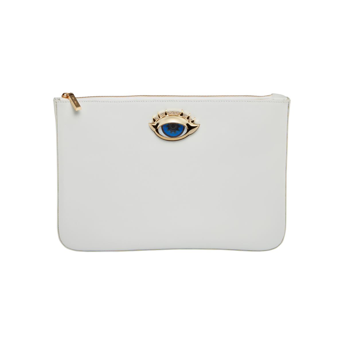 Holy White Clutch Bag