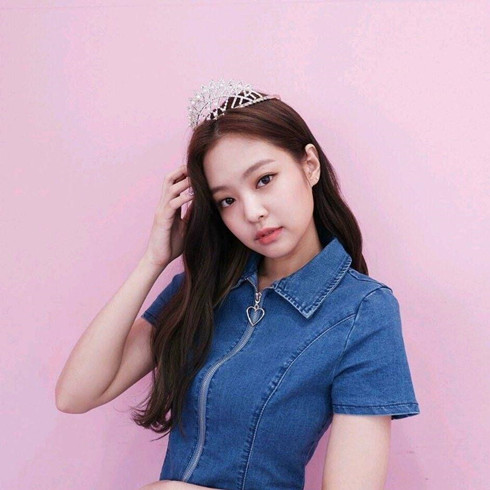 【BlackPink Jennie同款】Heart club 17SS 心形拉链牛仔连衣裙