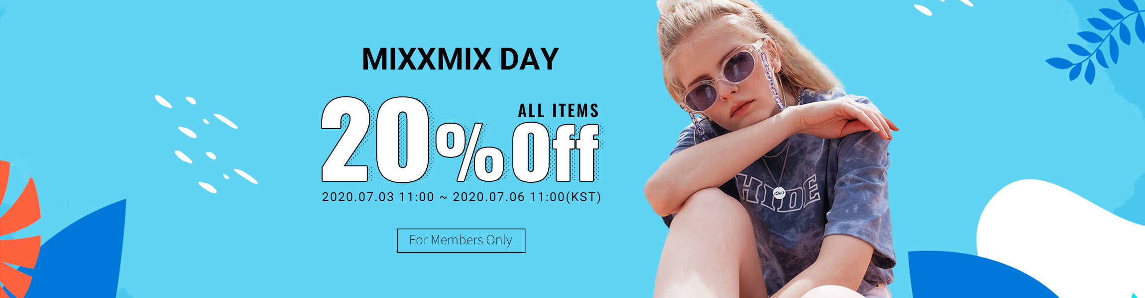 MIXXMIX DAY All items 20%OFF