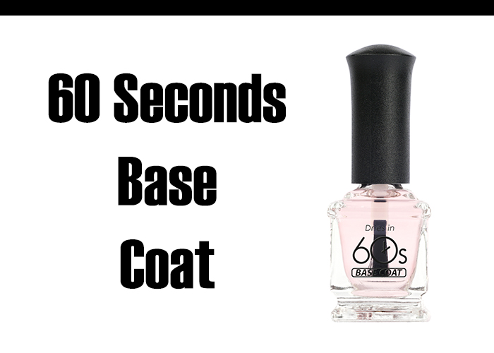 Quick Drying 60 Seconds Nail Base Coat