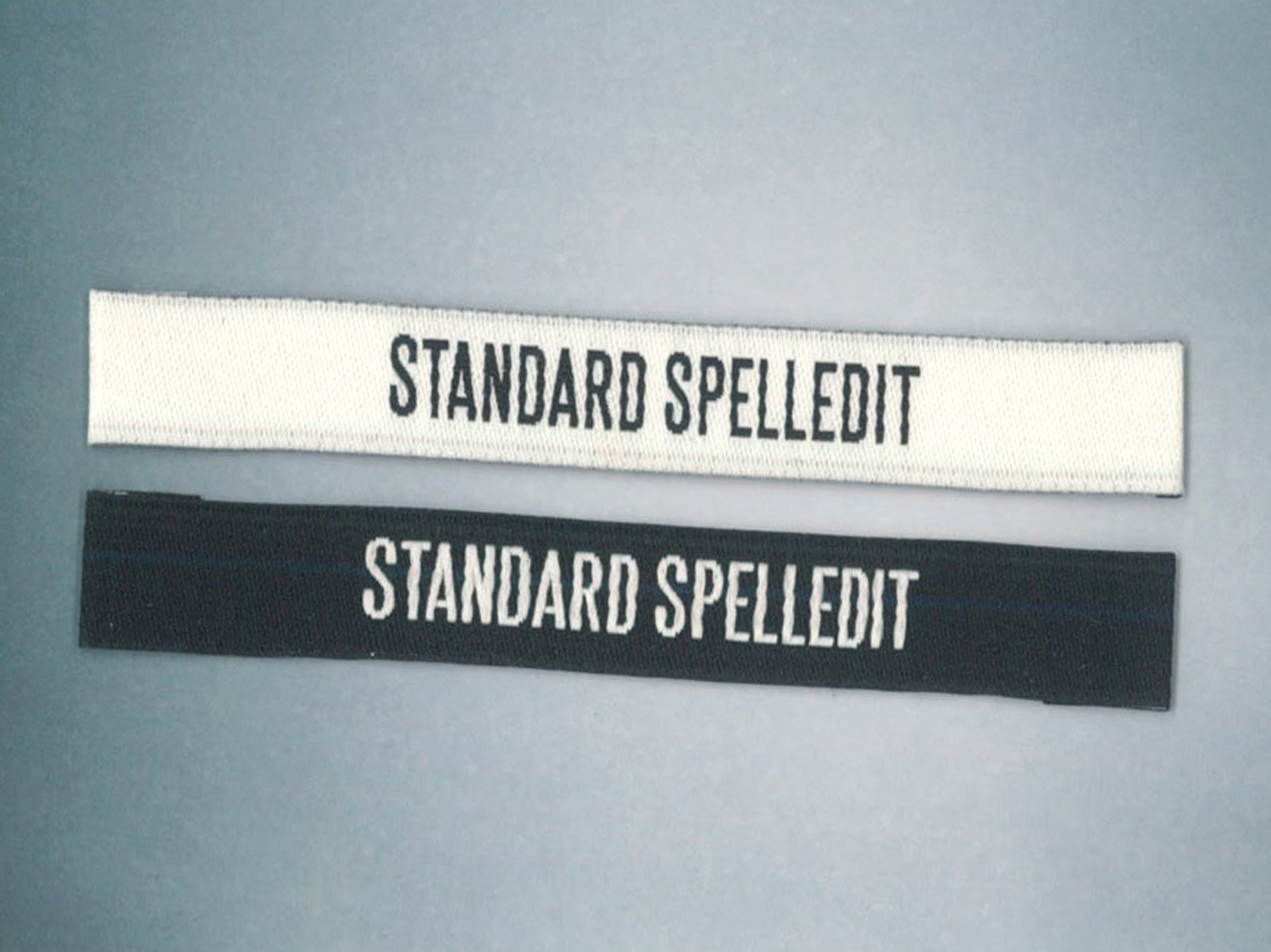 "New Label <br> ""Standard Spelledit"""