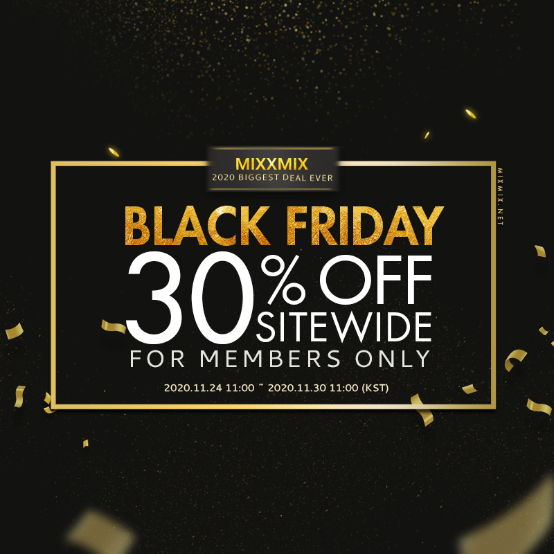 BLACK FRIDAY SITEWIDE 30% Off For Members Only