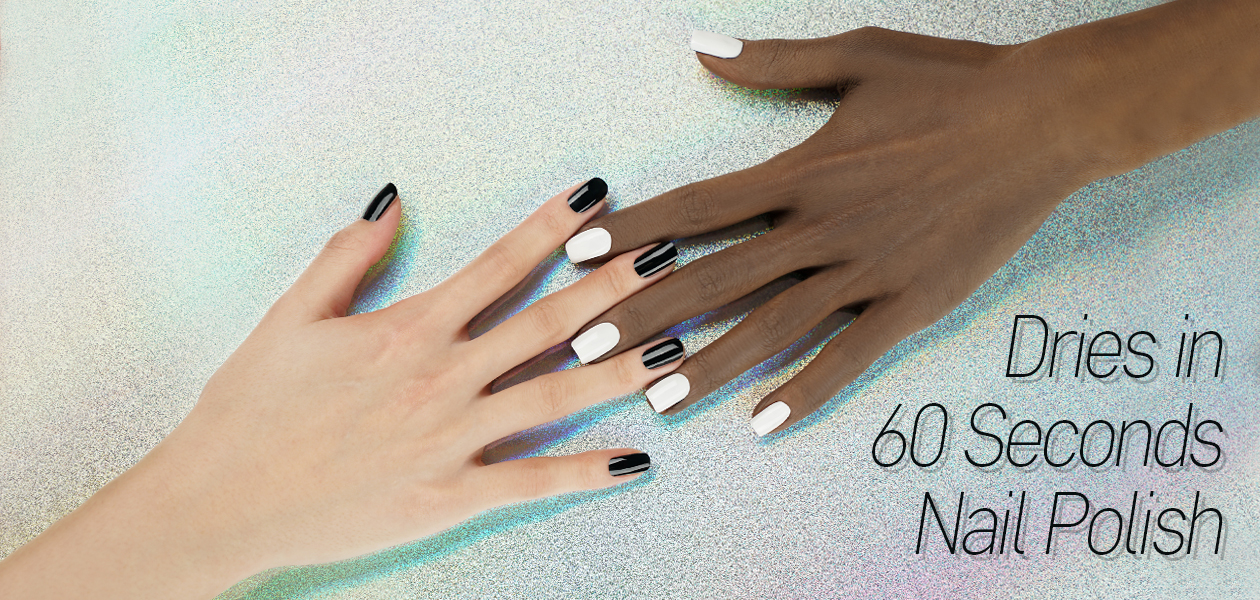 Fast Drying 60 Seconds Nail Polish & Nail Colors